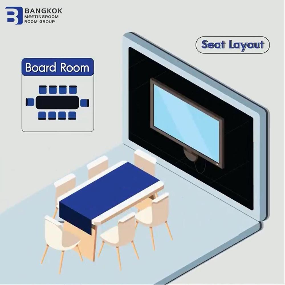 Board Room รูปแบบสำหรับห้องประชุมขนาดเล็ก