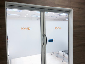 Front of Board Room