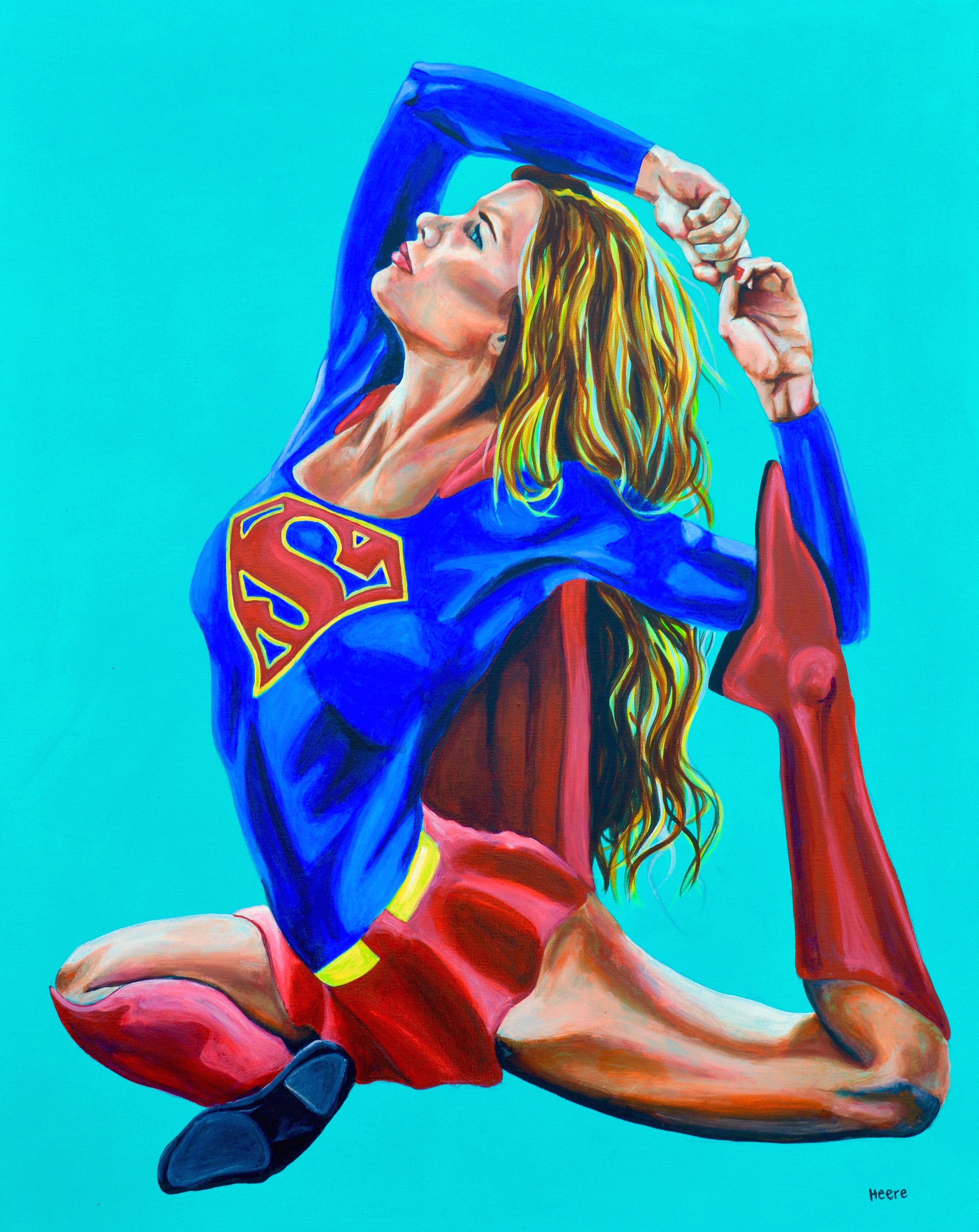 Supergirl Yogi