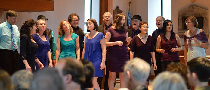 Boston Jazz Voices - Photo by Maia Kennedy Photography