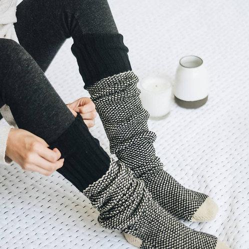 Lounge Socks in Black