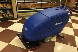 Orbital Floor Scrubber