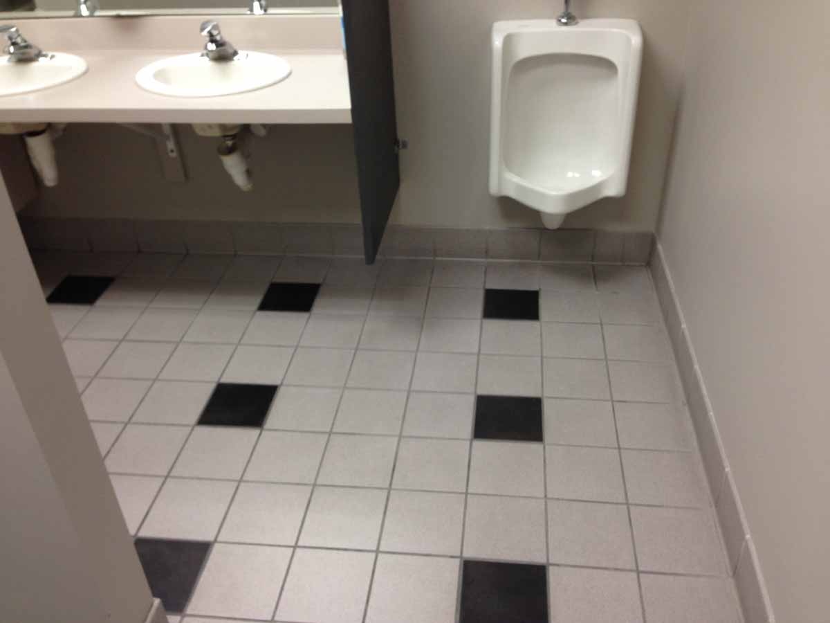 Industrial Cleaning Bathroom