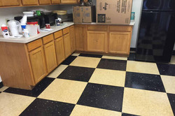 VCT Tile Strip and Wax