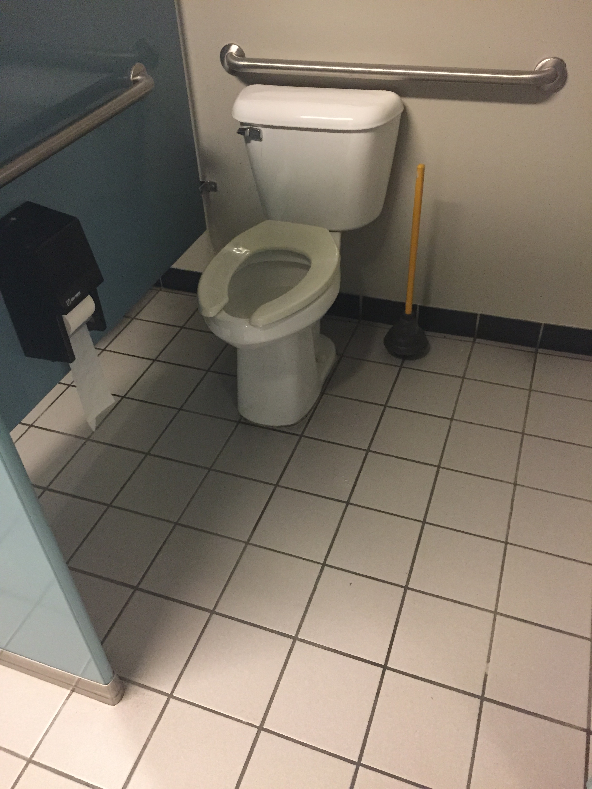 Industrial Bathroom Cleaning