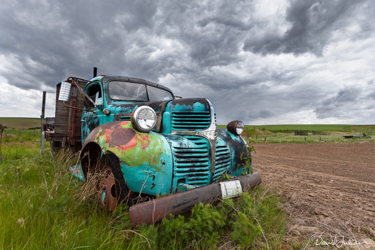 Old Truck in the Palouse