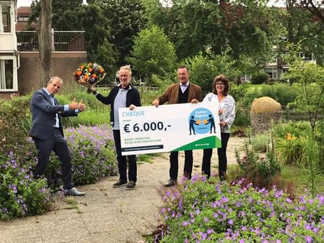 Buurten &Zo wint cheque t.w.v. €6.000