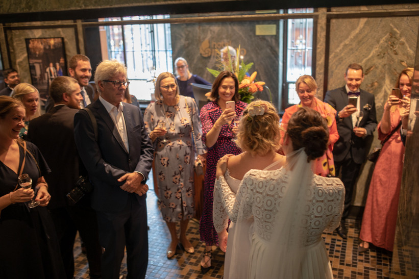 Bryllup mottakelse