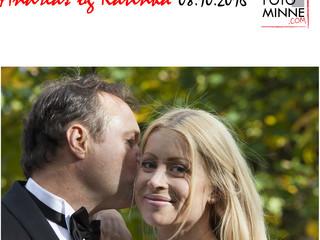 Bryllup med Katinka og Andreas på Frogner