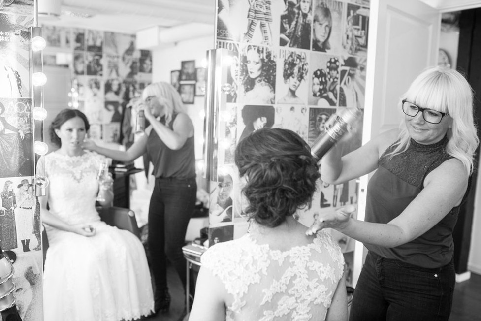 Bryllupsforberedelse