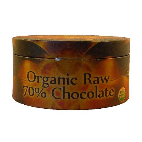 Balinese 70% Dark Chocolate Round
