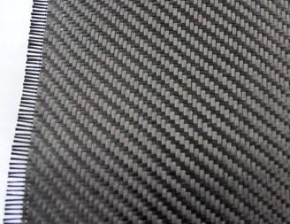 Fibra de carbono 2x2 twill 6k