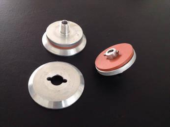 Conector de aluminio para vacio (vacuum hose)