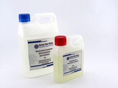 Resina Epoxica para laminación con Endurecedor