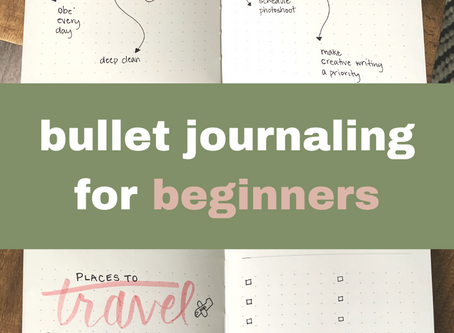 So What's the Deal With Bullet Journaling?