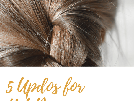 5 Updos for Hot Days