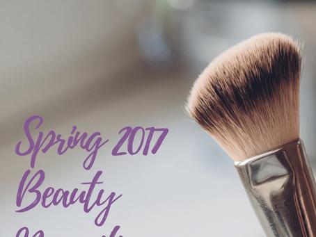 Spring 2017 Beauty Necessities