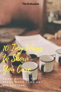 Tiny Ways to Show Care