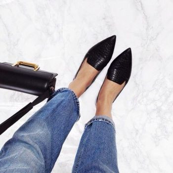 Make Your Point: These 13 Pointed Toe Flats Will Upgrade Your Shoegame: