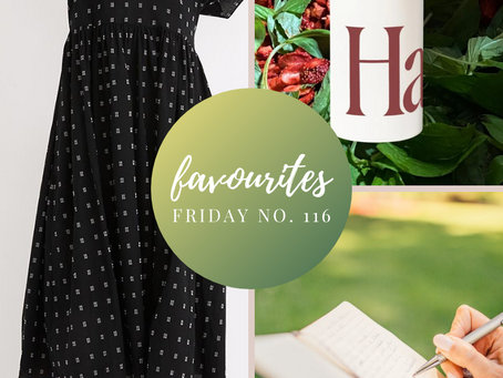 Favourites Friday No. 116