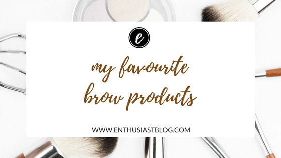 my favourite brow products