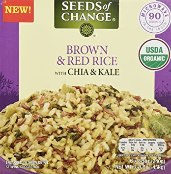 Image result for seeds of change brown and red rice with chia and kale