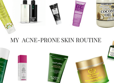 My Acne-Free Skin Routine