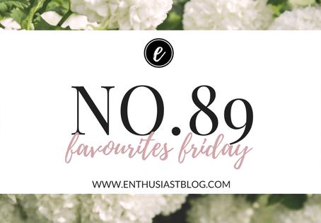 Favourites Friday No.89
