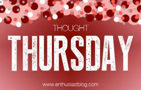 Thought Thursday: Stress Masterlist