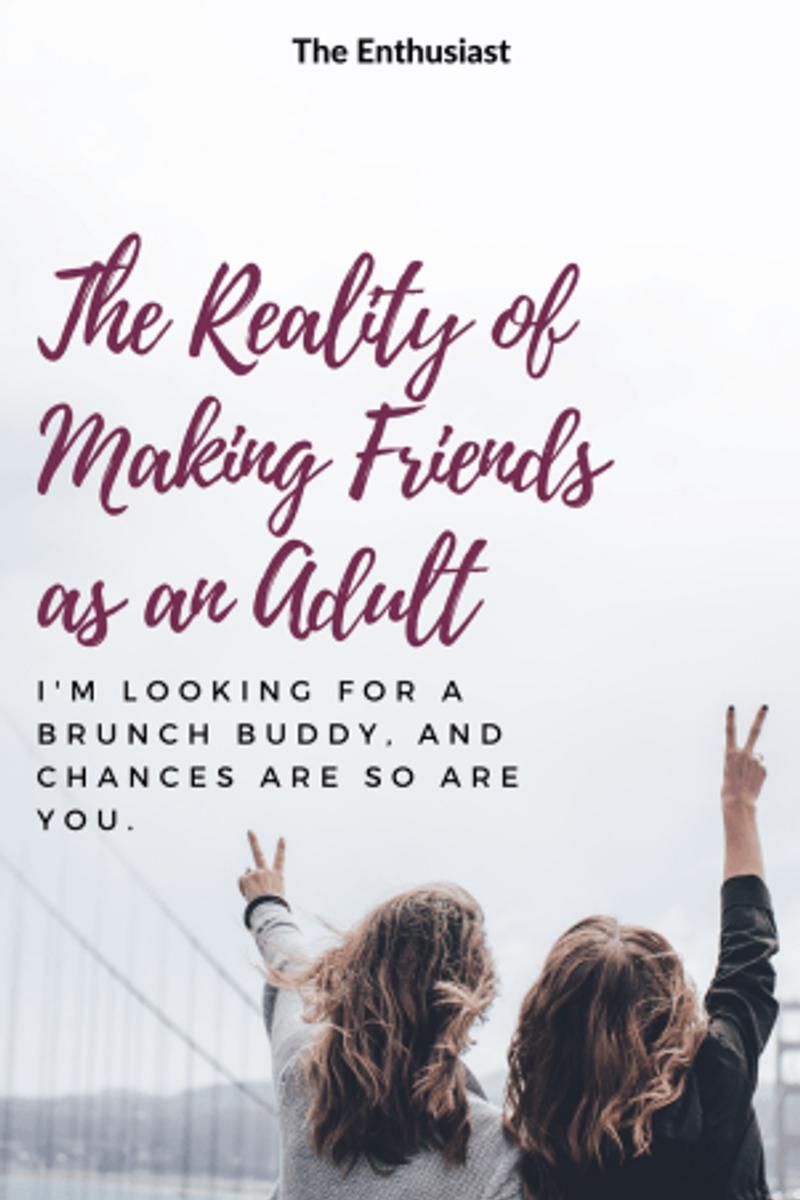 Adult Female Seeking Brunch Buddy