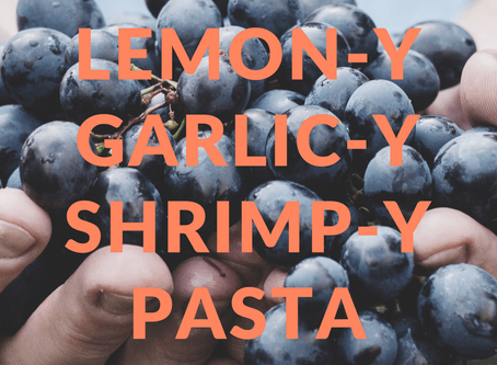 Enthusiastic Eats: Lemon Garlic Shrimp Pasta