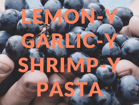 Enthusiastic Eats: Lemon Garlic Shrimp Pasta