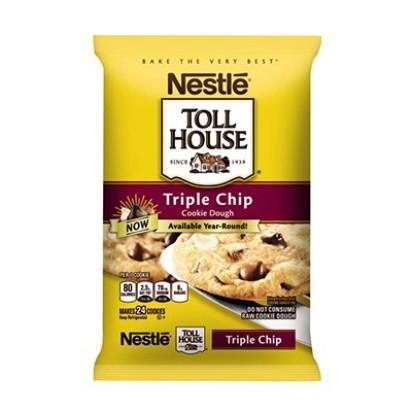 NESTLÉ® TOLL HOUSE® Triple Chip Cookie Dough