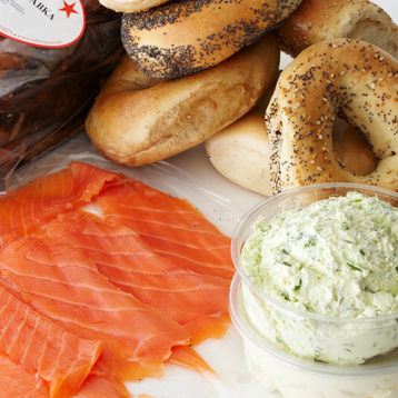 Image result for lox bagel
