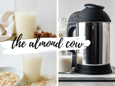 Almond Cow: A Sustainable Way to Never Buy Milk Again