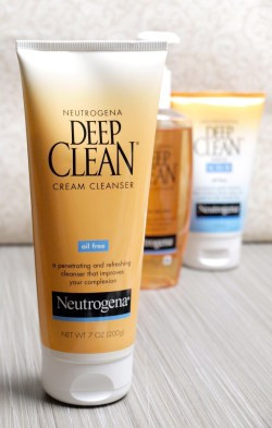 Image result for neutrogena deep clean cream cleanser