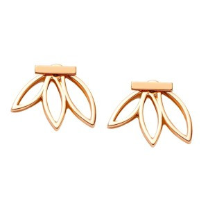 Image result for shein lotus earring jacket