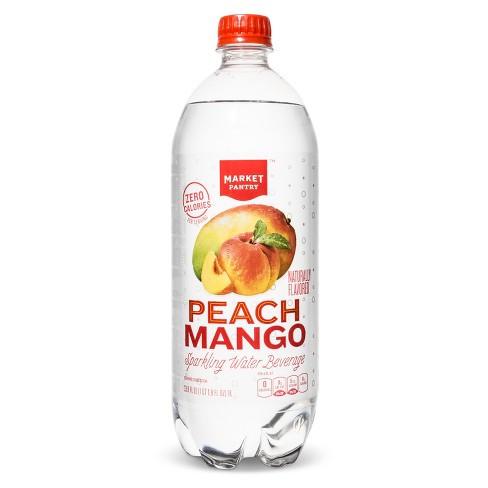 target peach mango water