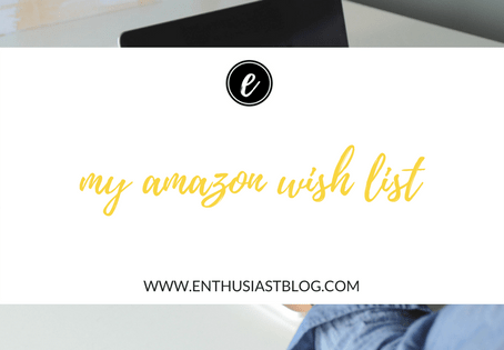 My Amazon Wish List {good deals & fun finds}