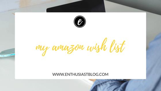 my amazon wish list