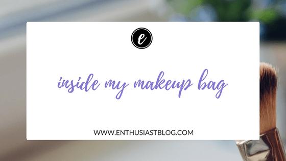 inside my makeup bag