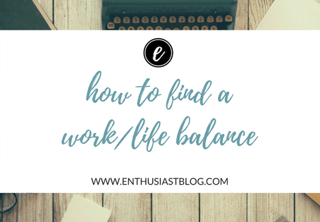 Balance Your Work & Personal Life