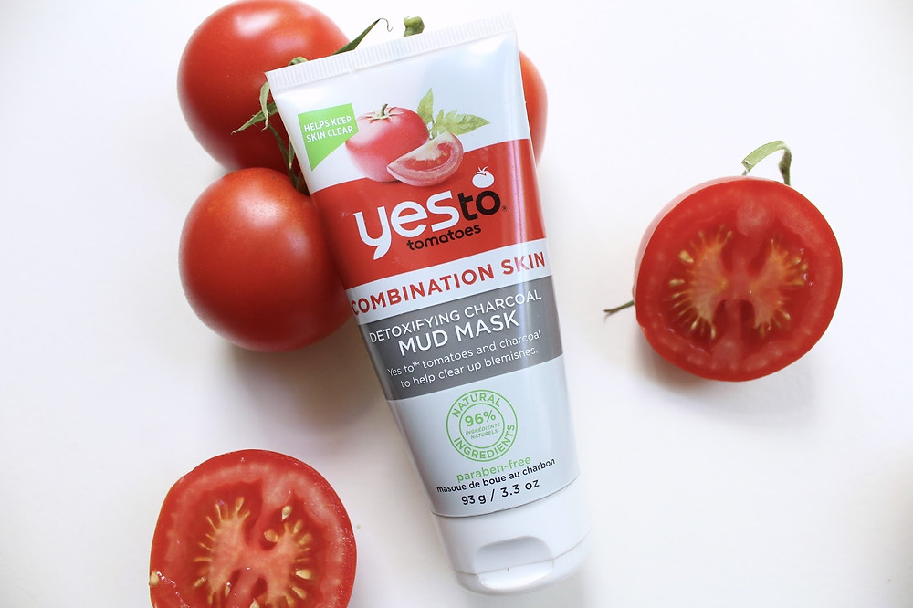 Image result for yes to tomatoes charcoal mud mask