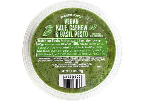 Image result for trader joe's vegan pesto