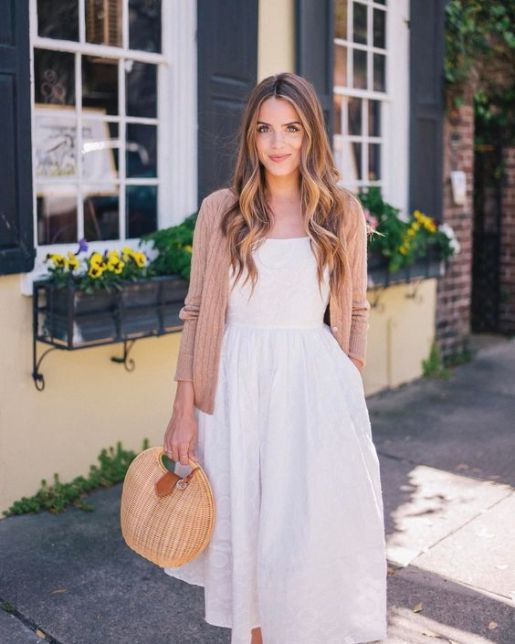 "22.3k Likes, 267 Comments - Julia Engel (Gal Meets Glam) (@juliahengel) on Instagram: ""A sunny day calls for a little white dress ☀️ more of this look on galmeetsglam.com today (link in…"""