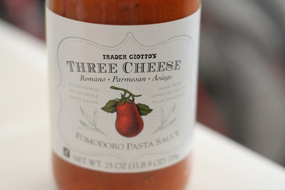 Image result for trader joe's three cheese pasta sauce