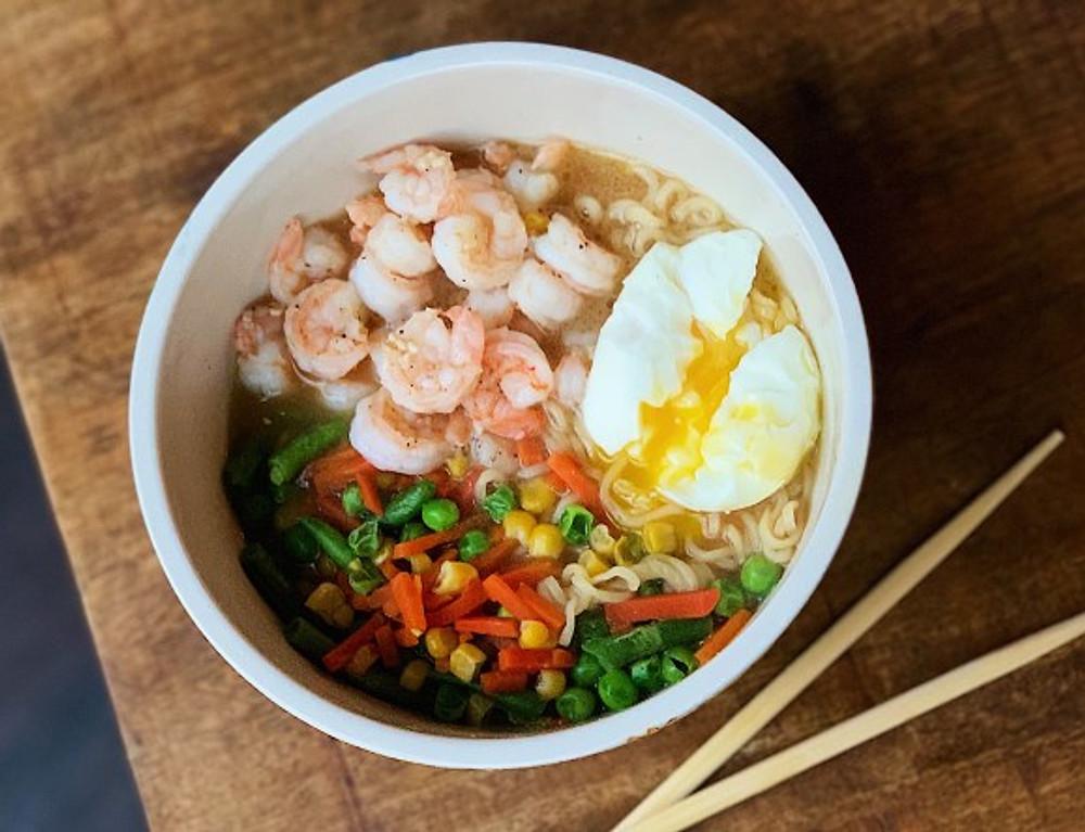 shrimp instant ramen