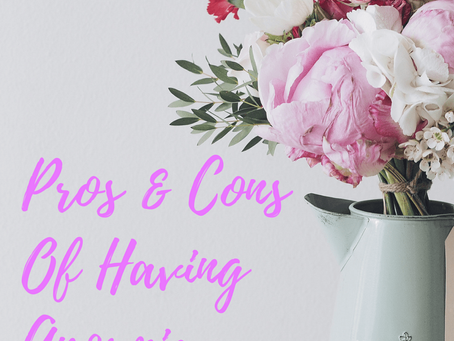 The Pros & Cons of Anosmia {lack of smell}