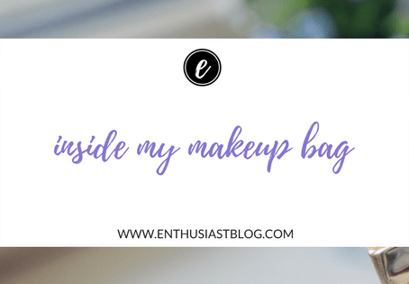 Inside My Makeup Bag: August 2017