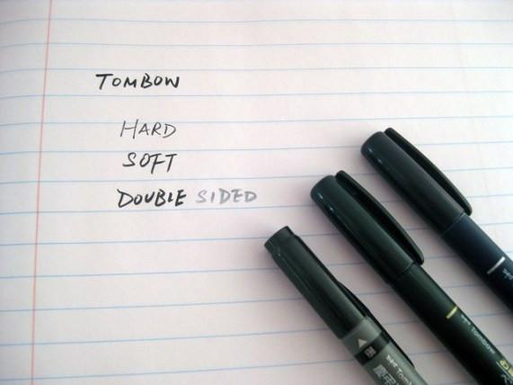Image result for tombow fudenosuke pens